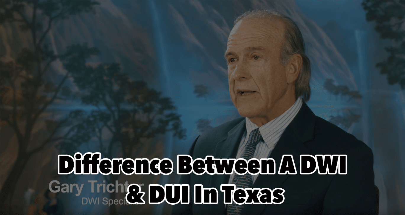 Difference Between DWI & DUI in Texas