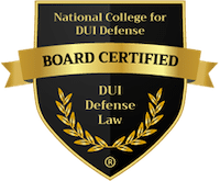 NCDD Board Certified DWI Lawyer