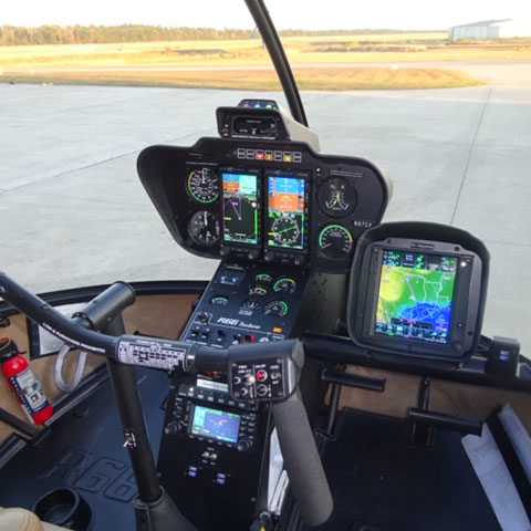 Robinson Helicopter-R66 Cockpit